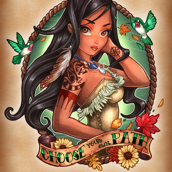 Choose Your Own Path Art Print by Tim Shumate | Society6