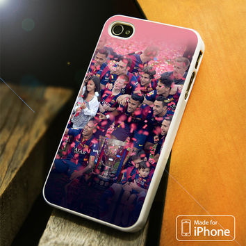 Barcelona Champions League team iPhone 4S/5S/5C/SE/6S Plus Case