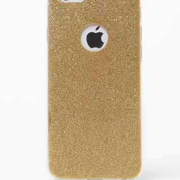 LA Hearts Gold Glitter iPhone 6/6s Case - Womens Scarves - Gold - One