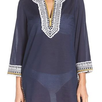 Tory Burch Fringe Cover-Up Tunic | Nordstrom