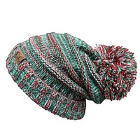 Always Adorable, Super Slouchy Christmas CC Pom Beanie