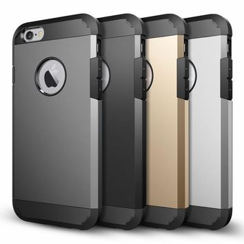 For iPhone X Case Tough Armor Heavy Duty Protection Cover Protective Shell For iPhone 8 iPhon 8 Plus Mobile Phone Accessories