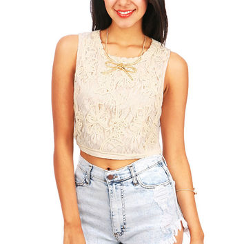 Lace Labyrinth Top