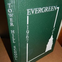 1967 Yearbook - Tower Hill School - Wilmington Delaware - The Evergreen - No Signatures