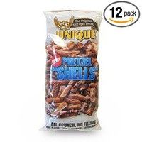 Unique Pretzel Shells 12 10 Oz Bags: Grocery & Gourmet Food