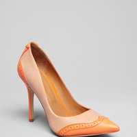 Rachel Roy Pointed Toe Cap Toe Pumps - Ana High Heel | Bloomingdale's