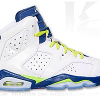 Air Jordan Big Kid's 6 VI BG GS Seahawks