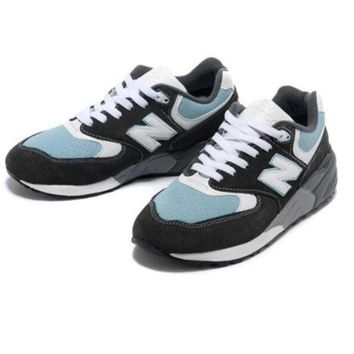 CREYONV new balance fashion able women comfortable leisure sports shoes steel blue 4 color