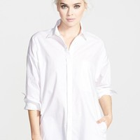 Women's re:named 'Risky Biz' Button Front Shirt