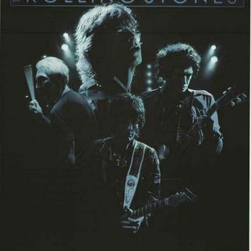 Rolling Stones Live Glow Poster 22x34