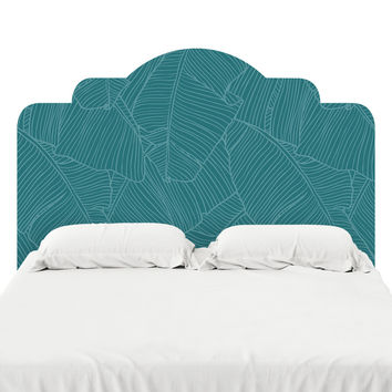 The Palms Headboard Decal