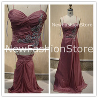 A Line Sweetheart Neckline Removable Strap Sleeveless Beading Floor Length Prom Dress