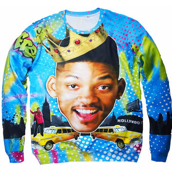 Will Smith The Fresh Prince of Bel-Air Crewneck