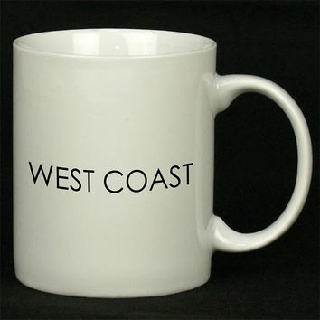 West Coast Art For Ceramic Mugs Coffee *