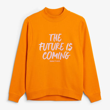 Oversized sweater - Two carrots please - Sweatshirts & hoodies - Monki GB