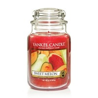 Sweet Melon : Large Jar Candles : Yankee Candle