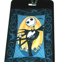 Jack Skellington Nightmare Before Christmas Luggage Tag