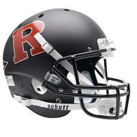 Rutgers Scarlet Knights NCAA Replica Air XP Full Size Helmet (Alternate Black w- Red 2)
