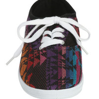 Basic Printed Tennis Shoe | Shop Shoes at Wet Seal