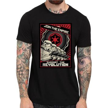 2016 Join the Empire T-Shirt Support Our Troops Star Wars Stormtroopers Tops Tee Shirts Funny Hipster T shirt For Men Women