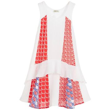 Kenzo Girls Crêpe Dress