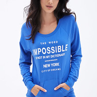 Inspirational Pullover Sweater