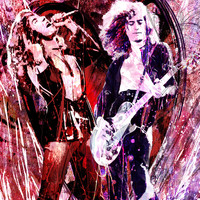 Led Zeppelin Art - Canvas & Limited Edition Print
