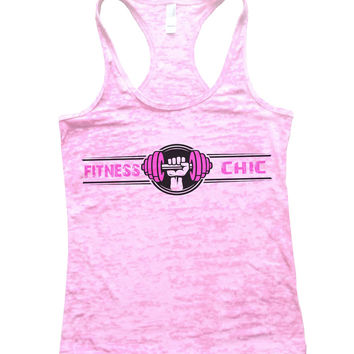 Fitness Chic Burnout Tank Top By BurnoutTankTops.com - 777