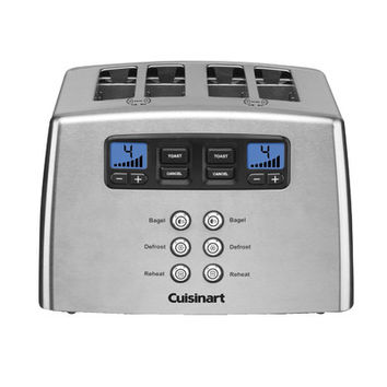 Cuisinart 4 Slice Countdown Leverless Toaster