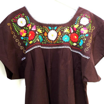 Plus size traditional mexican dresses,  Mexican embroidered dress, Embroidered Crochet Tunic Dress, Mexican embroidered dress plus size