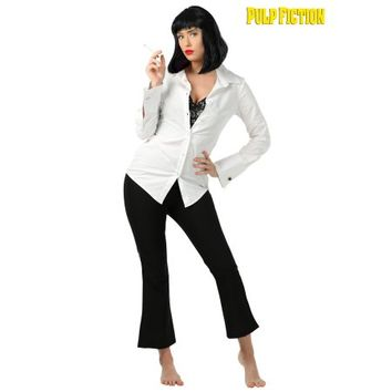 Mia Wallace Pulp Fiction Costume for Women - Walmart.com
