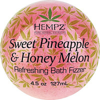 Sweet Pineapple & Honey Melon Refreshing Bath Fizzer