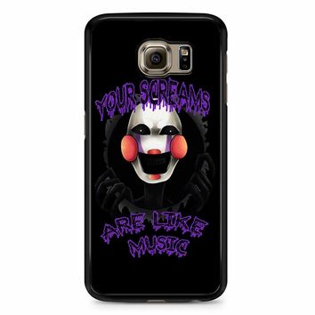 Five Nights At Freddy S The Marionette Samsung Galaxy S6 Case