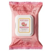 Burt's Bees Facial Cleansing Towelettes - Pink Grapefruit - 30 count