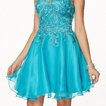 Strapless Sweetheart Cocktail Homecoming 2016 105-772 Prom dress