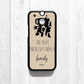 Walt Disney Quote HTC M8 Case