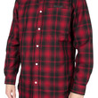 The Slated LS Buttondown Shirt in Red