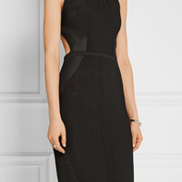 Cushnie et Ochs - Open-back stretch-knit dress