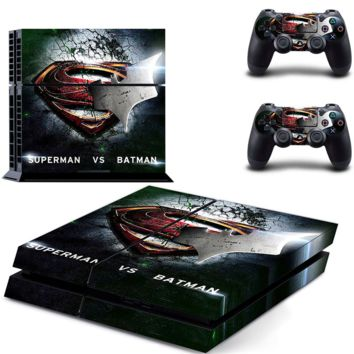 Superman VS Batman PS4 Skin