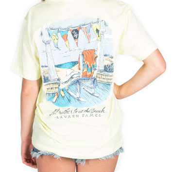 Lauren James - I'd Rather Be at The Beach T-Shirt