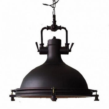 Euro countryside industrial RH loft restaurant vintage pendant lamp light