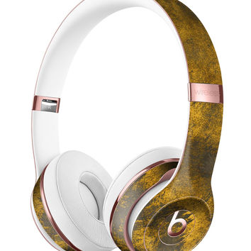 Scratched Gold Standard V1 Full-Body Skin Kit for the Beats by Dre Solo 3 Wireless Headphones