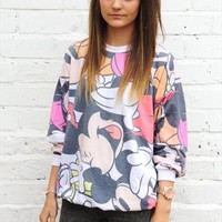 Ink & Paint ASOS Disney Mickey Minnie Mouse Retro Jumper M from Boutique 73