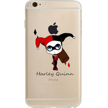 Harley Quinn Jelly Clear Case for Apple iPhone 7 PLUS