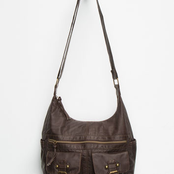 T-Shirt & Jeans Lorraine Hobo Bag Brown One Size For Women 26645540001