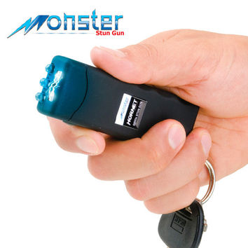 2 Million Volt Powerful Keychain Stun Gun with Bright LED Flashlight