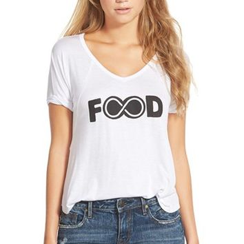 Junior Women's Ten Sixty Sherman 'Food' Graphic T-Shirt,