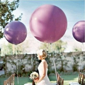 ca DCCKTM4 5pcs/lot 36 Inch Super Big Large Wedding Decoration Birthday Party Ballons Thickening Multicolor Latex giant huge Balloon [8403802951]