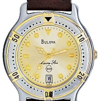 Bulova Men's Marine Star Watch 90B50