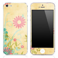 Vintage Sunflower iPhone 3g/3gs, 4/4s or 5 Skin